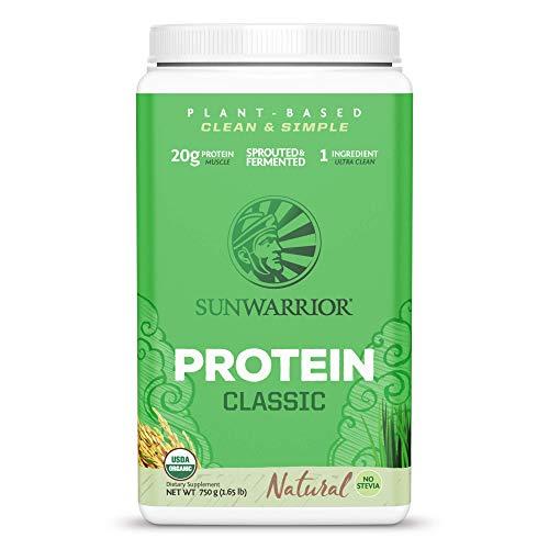 Sunwarrior natürliches Reisprotein Natural BIO - neue verbesserte Formel, 1er Pack (1 x 750 g)