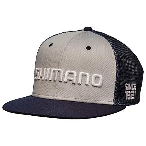 SHIMANO Flatbill Cap - Black - M/L
