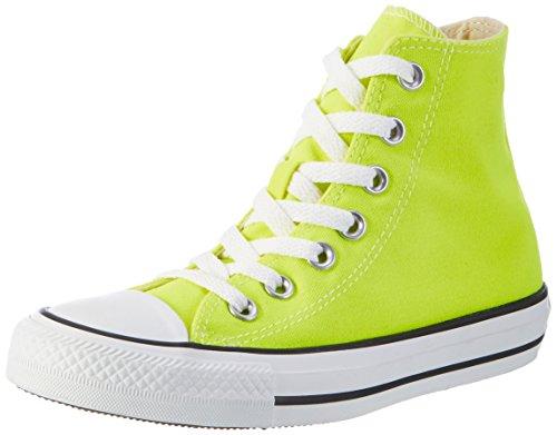 Converse CT HI - Zapatos de lona, color amarillo eléctrico (electric yellow), talla 36.5