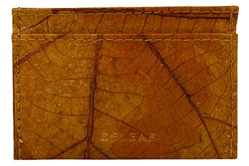 BELEAF | Slim Leaf - Slim Wallet aus Blättern - Naturprodukt - veganes Leder - Cruelty-Free and Handmade - robuster Geldbeutel - wasserabweisendes Portemonnaie