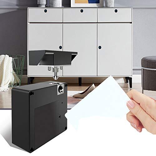 Cerradura electrónica del gabinete, Invisible apertura libre Sensor inteligente Cerradura del gabinete Armario Armario Zapatero Cerradura de la puerta del cajón