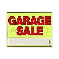 "SUNBURST-SYSTEMS 11""x14"" Garage Sale ネオンボードサイン"