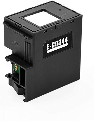 LUOERPI C9344 C9344E 9344 Caja de Mantenimiento de Tinta Apta para Epson XP-4105 XP-2100 XP-2101 XP-3100 XP-4100 Xp-4101 WF-2810 WF-2830 WF-2850 WF-2851 (Color: Chip) (Color : Chip)