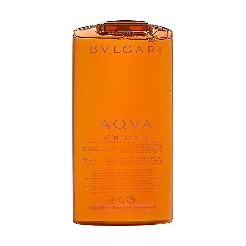 Bvlgari Aqva Amara homme/ men, Duschgel, 200 ml, 1er Pack, (1x 200 ml)