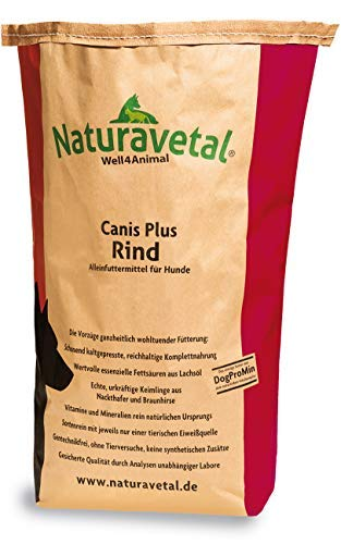 Naturavetal Canis Plus Rind 15 kg