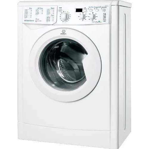 Indesit IWUD 41051 C ECO EU, Lavatrice a Carica Frontale, 4 Kg, 5 Programmi, A+, 1000 Giri/Min, Bianco
