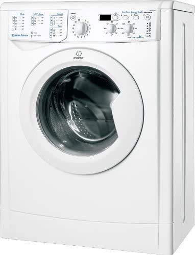 Indesit IWUD 41051 C ECO EU, Lavatrice a Carica Frontale, 4 Kg, 5 Programmi, A+, 1000 Giri Min, Bianco
