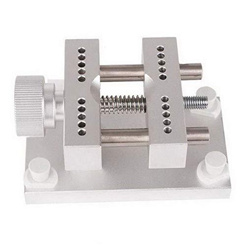 ZTBXQ Wohnaccessoires Metall Offener Uhrenhalter Uhr Rückseite Abdeckung Öffner Offener Clip Reparaturwerkzeug Silber