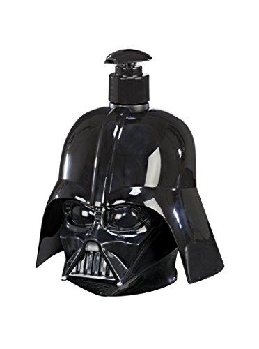 Air-Val Star Wars Geschenk-Set Pflegeset für Kinder und Fans (2 in 1 Duschgel und Shampoo 500ml im 3D Darth-Vader-Helm), Sammel-Edition