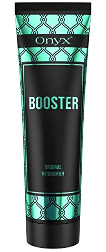 Onyx Booster - Tanning Lotion Accelerator - Melanin Boost - No Bronzer White Lotion Hydrating Formula
