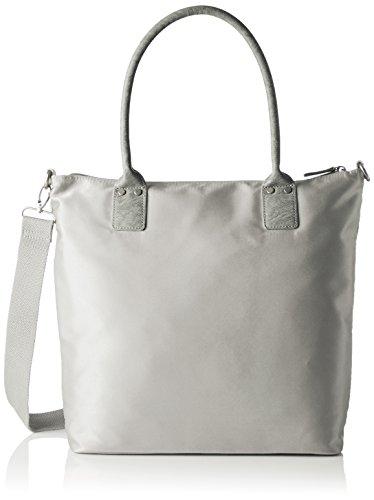 s.Oliver (Bags Damen Shopper Henkeltasche, Grau (Grau), 33x9x38,5 cm