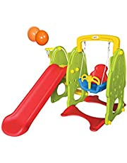 Best Toy Slide And Swing, Gree, 28-015-2ZK