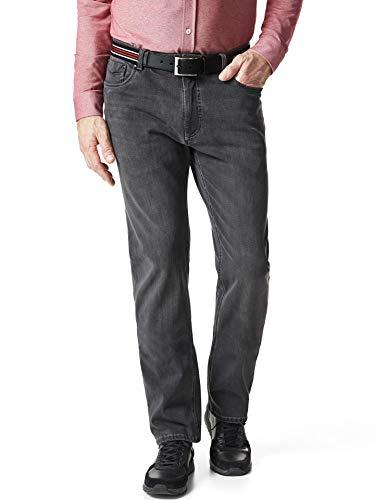 Walbusch Herren Gürtel Jeans Modern Fit einfarbig Grey 25