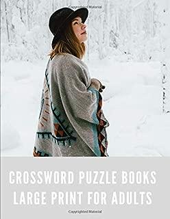 crossword puzzle books large print spiral bound: This book crossword puzzle books for adults easy to hardAboutcrossword puzzle books for adults ... books for adults people extra maze books