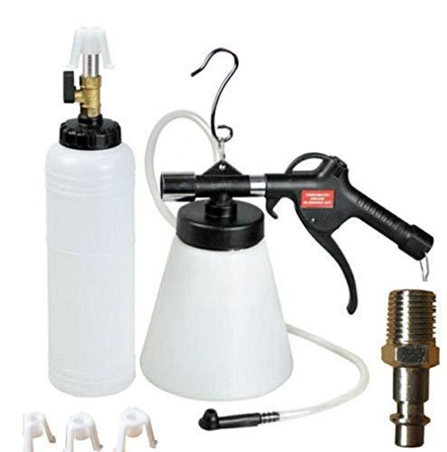 Kit de purgador de frenos de aire de 1 litro para aspiradora neumática de embrague y llenado de líquido hidráulico