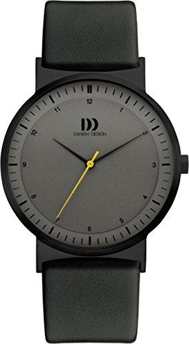 Danish Design Herren Analog Quarz Uhr mit Leder Armband IQ16Q1189