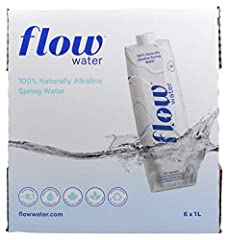 100% Naturally Alkaline Spring Water + pH of 8.1: Essential minerals and electrolytes for supercharged hydration. Healthy Minerals: Flow Alkaline Spring Water contains natural, essential minerals like calcium, potassium, magnesium and bicarbonate tha...