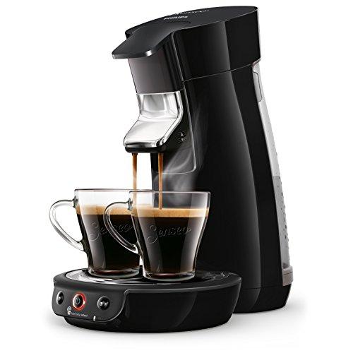 Philips HD6563/61 Kaffeemaschine für Kaffeepads, Senseo Viva Cafe, Schwarz