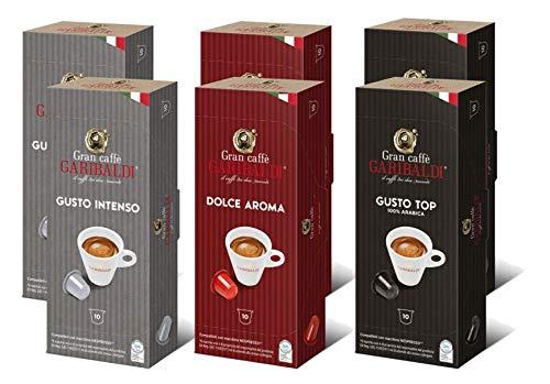 small Gran Caffè Garibaldi Nespresso compatible capsule (variety pack, 60 pieces)