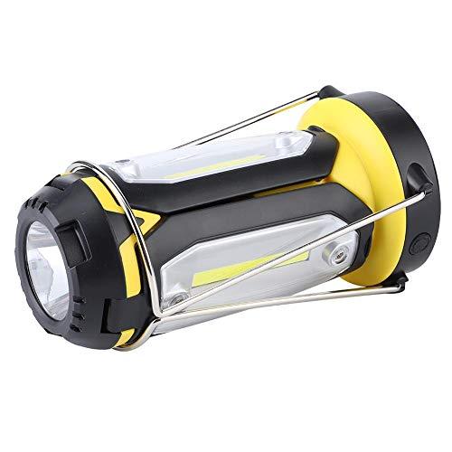 Pbzydu Kunststoff Material Langlebiges Beleuchtungswerkzeug LED-Taschenlampe, Mutifunktionale Außenleuchten, Stromausfälle beim Angeln Camping Wandern für Bauarbeiten