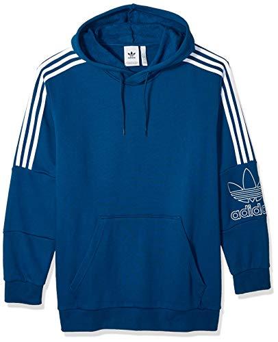 adidas Originals Herren Outline Hoodie - Blau - Small