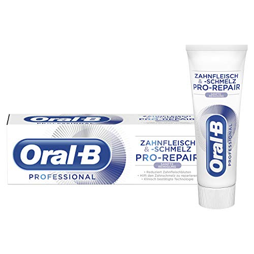 Oral-B Professional Zahnfleisch und -schmelz Sanfte Reinigung 75ml, 1er Pack