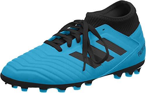 adidas Predator 19.3 AG J, Zapatillas de Fútbol Unisex Niños, Multicolor (Bright Cyan/Core Black/Solar Yellow G25799), 32 EU