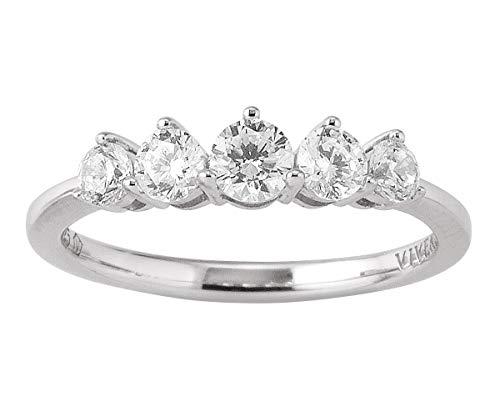 Viventy Damen-Ring 780131/56 Ringgröße 56/17,8