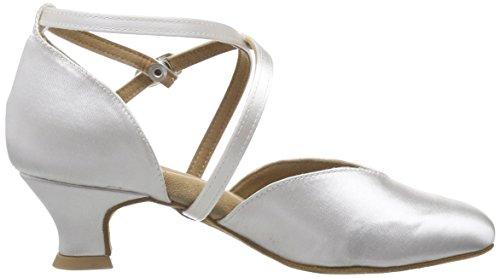 Diamant Brautschuhe Standard Tanzschuhe 107-013-092, Damen Tanzschuhe – Standard & Latein, Weiß (Weiß), 42 2/3 EU (8.5 Damen UK) - 6