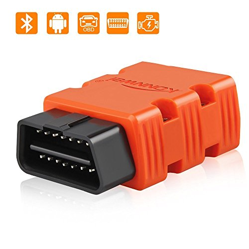 with Bluetooth Bosmutus OBD 2 Scanner OBD II Reader OBD2 Engine Diagnostic Tools for Cars and Trucks Black