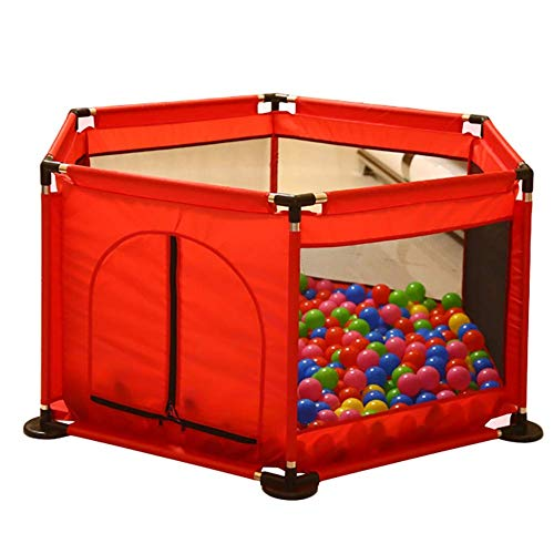 ZTMN Clôture pour Enfants Baby Indoor Playpen Child Safety Fence Home (Couleur: Rouge)