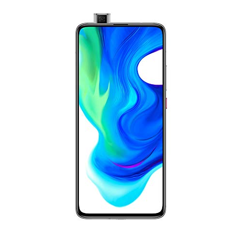 Xiaomi Poco F2 Pro Smartphone 5G, Super AMOLED Display, 1082 x 2400 Pixel, Qualcomm SM 8250 Snapdragon 865, 4700 mAh, Quad Camera, 8 K Video, 6 GB + 128 GB, Grigio (Cyber Grey)
