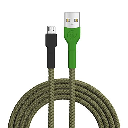 Recable - Cable micro USB (1 m, fabricado en Alemania)