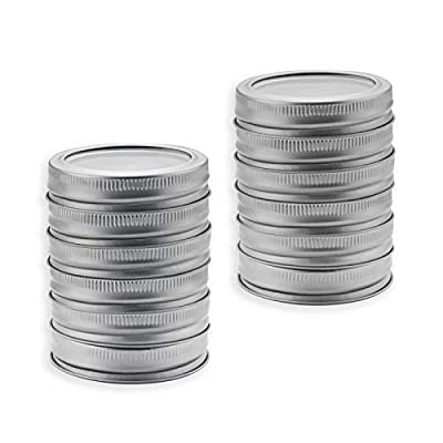Atemws Canning Lids and Bands for Regular Mouth...