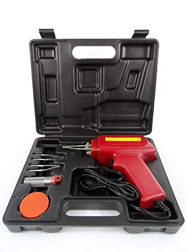 5pc 100W Soldering Gun Kit with Case Iron Solder Professional Style Sodering