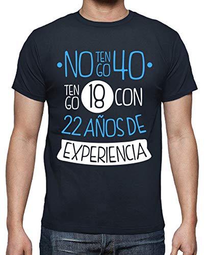 latostadora - Camiseta 1978 No Tengo 40 para Hombre