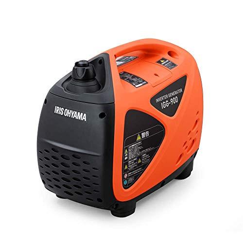 アイリスオーヤマ インバーター発電機 ガソリン発電機 定格出力0.9kVA 50Hz/60Hz切替 IGG-900