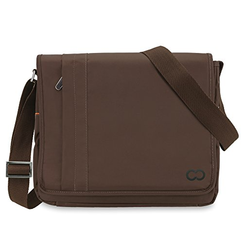 Microsoft Surface Pro 3 Messenger Bag, CaseCrown Poly Messenger Bag (Brown)