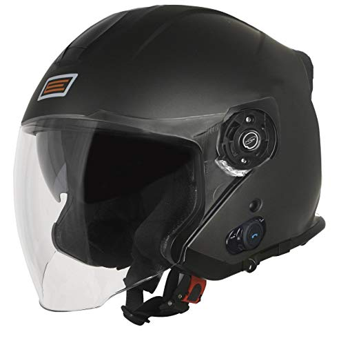 Origine Palio 2.0 Mini S7 Bluetooth Casco Jet Titanio opaco