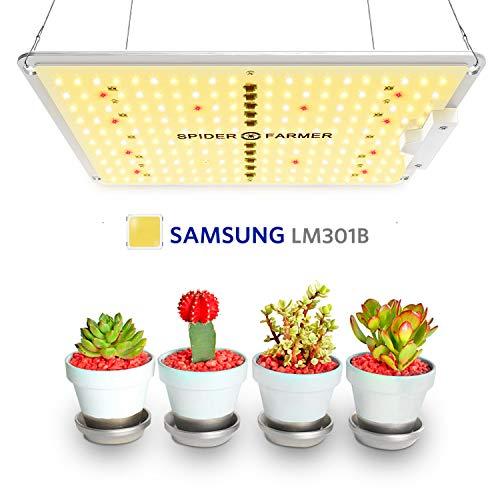 Ultra compact DEL Grow Light lumière blanche Setup pousse des semences à la récolte.