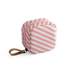 Quality Material:Made of polyester fiber,strong thickness makes the bag softer and pliable,durable and reusable. Cute Gift:Each of these little cosmetic pouch has an adorable pattern,it would be a great gift for women and girls. Multifunctional Bag:T...