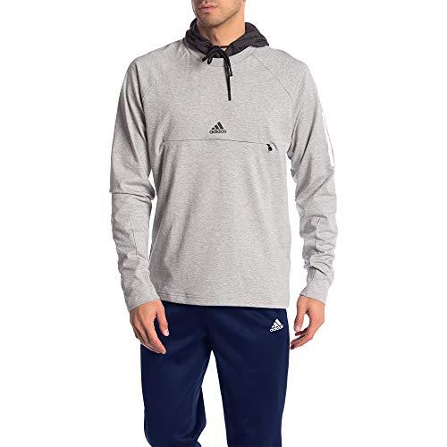 adidas Originals Sudadera con capucha esencial para hombre - gris - Large