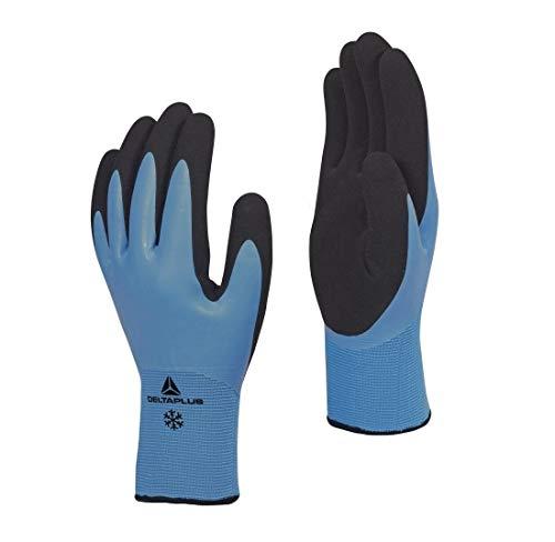 デルタプラス(DELTAPLUS) THRYM VV736 防水すべり止め手袋(防寒モデル) マイナス30度対応 アクリル起毛裏地にニトリルコーティング(2重コート) 高い保温効果 耐摩耗性 XLサイズ 79626