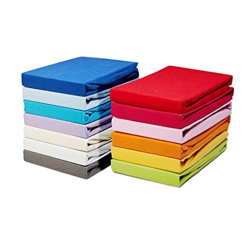 Möbelfreude Kinder Spannbettlaken, Weiß, Öko-Tex Standard 100, 100% Baumwolle mit Rundum-Gummizug für 60x120cm - 70x140cm
