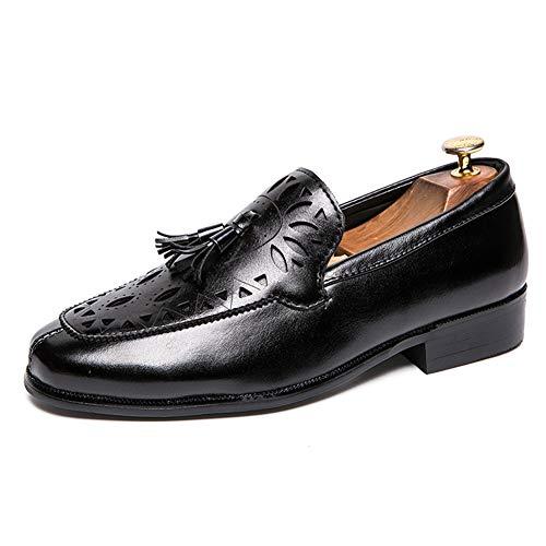 Hombres Borla Negocios Formal Zapatos de Boda Elegante Vestido de Fiesta Mocasines...