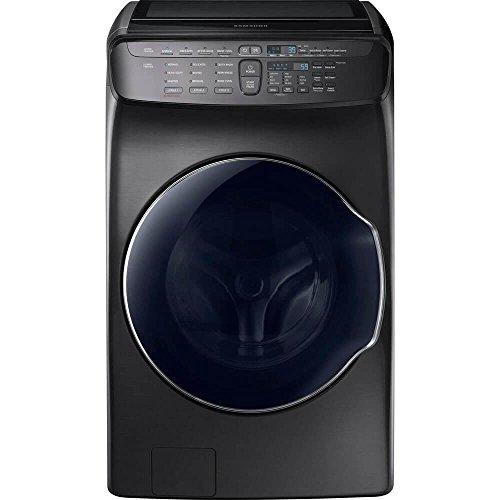 Samsung 5.5 Cu. Ft. Black Stainless Steel FlexWash ...