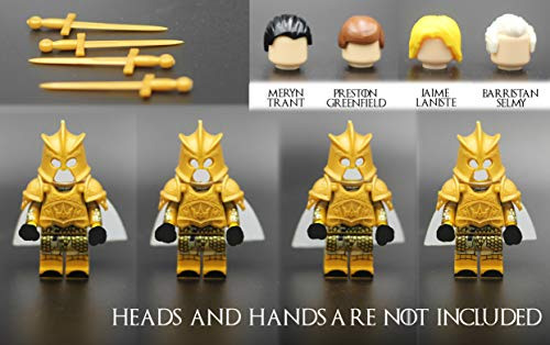 MAGMABRICK Accesorios Militares compatibles con Legos Armadura de Guerra Inspirada en el...
