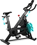 Reach OVICX Magnetic Stationary Bike with Adjustable Professional Handlebar Belt Drive Indoor Cycling Workout Bike for Home Gym