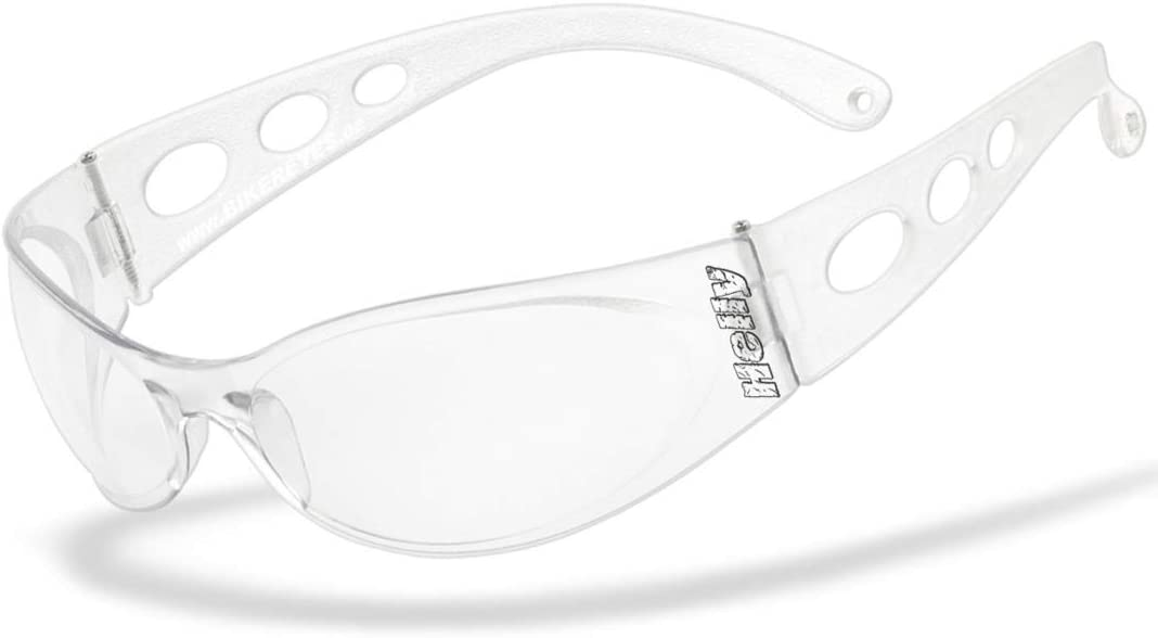 HLT/® Kunststoff-Sicherheitsglas POLARISIEREND UV400 Filter Sportbrille Motorradbrille Brille: vision 3 Helly/® Bikerbrille No.1 Bikereyes/® H-FLEX/®- unzerbrechlich