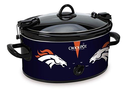 Crock-Pot Denver Broncos NFL 6-Quart Cook & Carry Slow Cooker